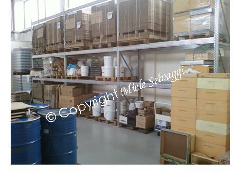 magazzino imballaggi. Packing warehouse.