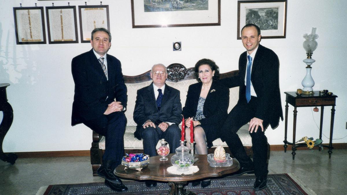 foto di famiglia Miele Selvaggi 2004